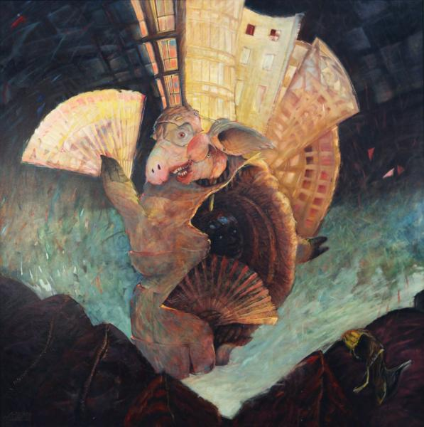 Het varkenskot (piggery)